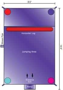 mini jump dimensions